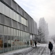 Fasade vinter , HBA Arkitekter as